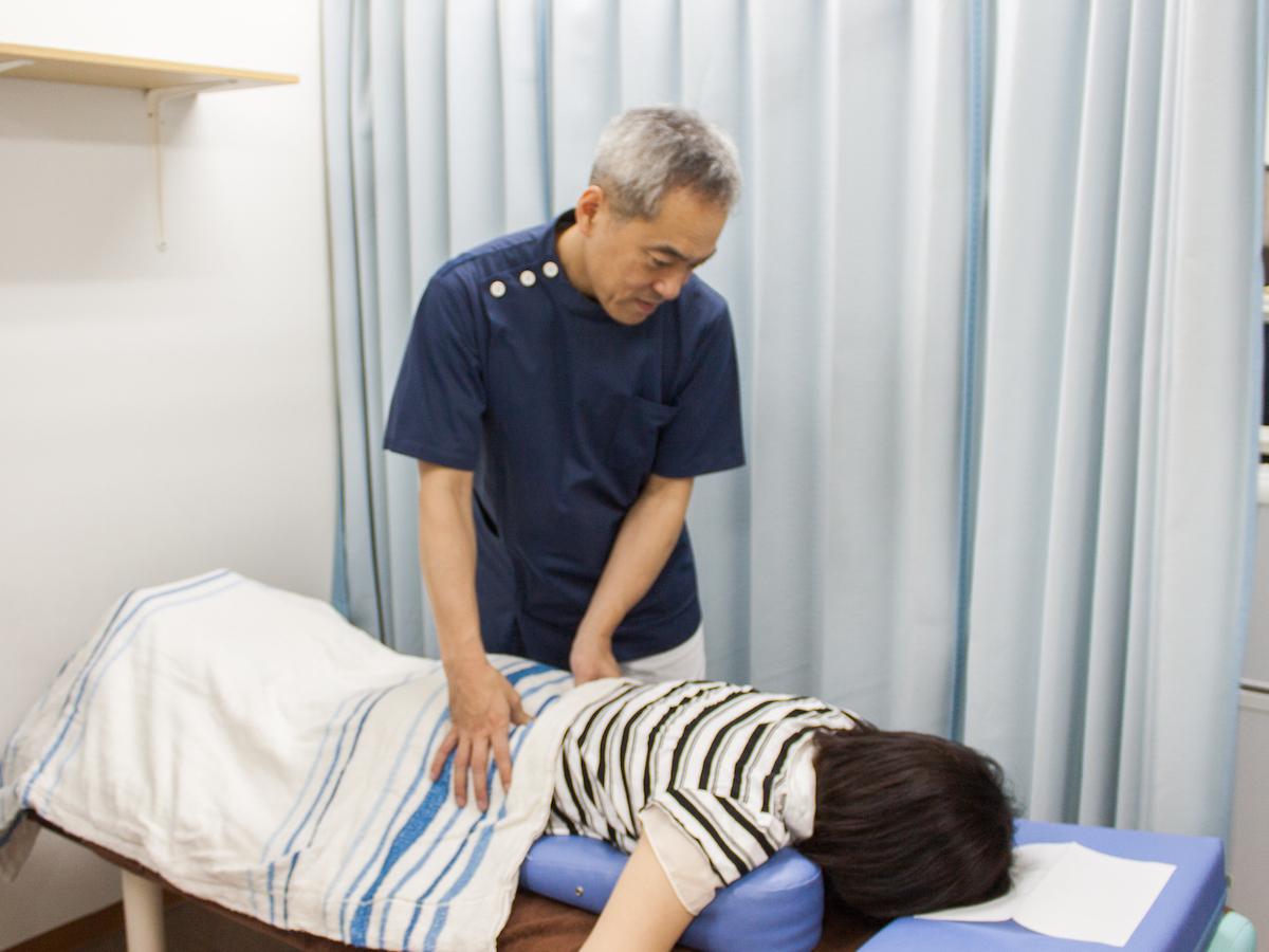 かもめ整骨院の手技療法