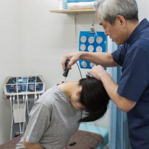ハイボルテージ療法(首)
